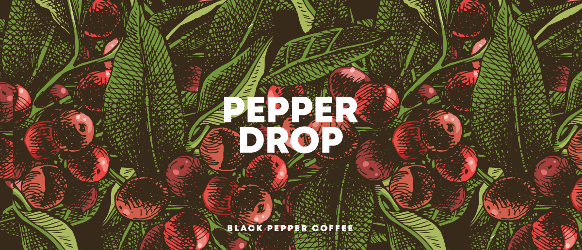 Pepperdrop – Black Pepper Coffee