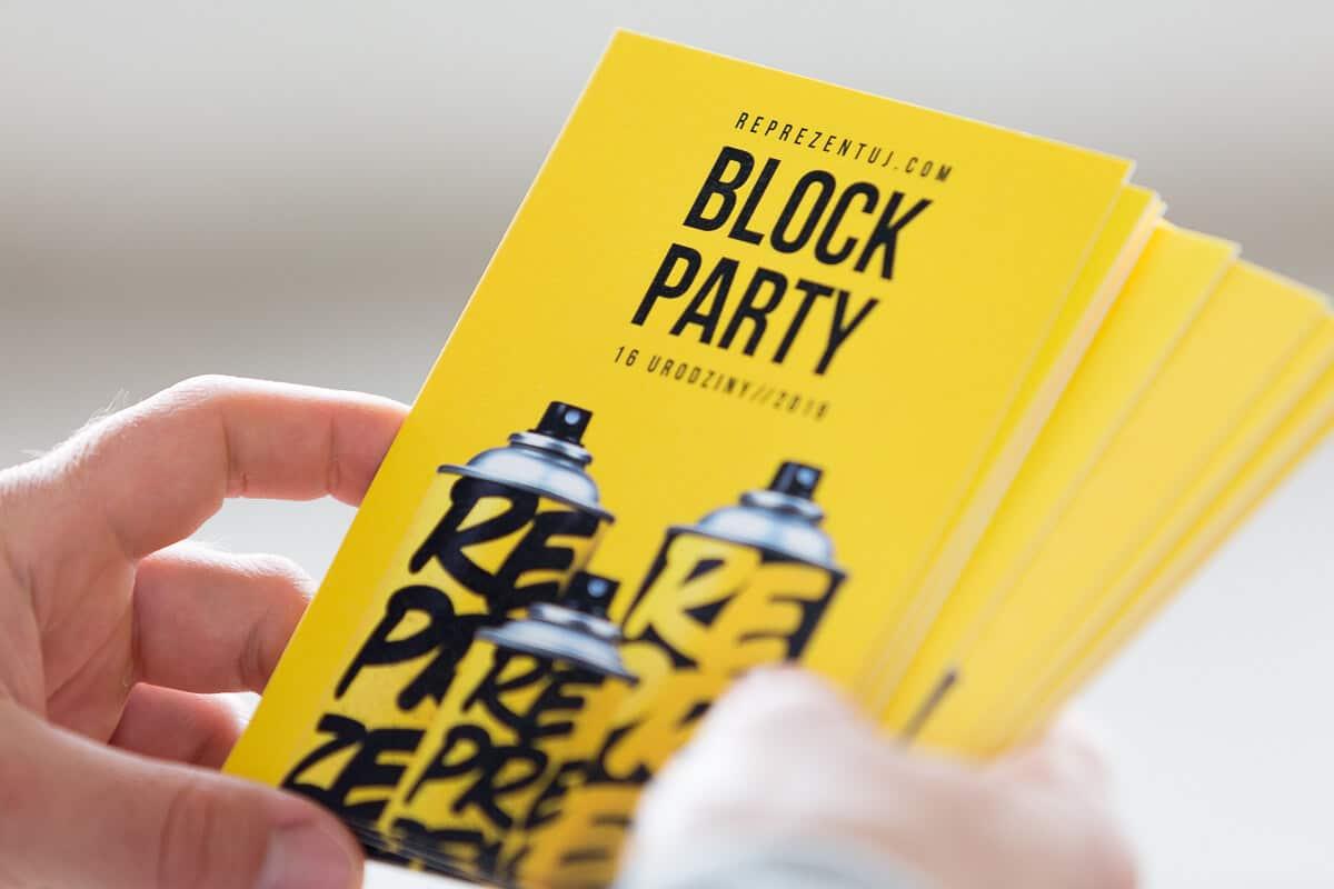 Block Party Reprezentuj.com 2019