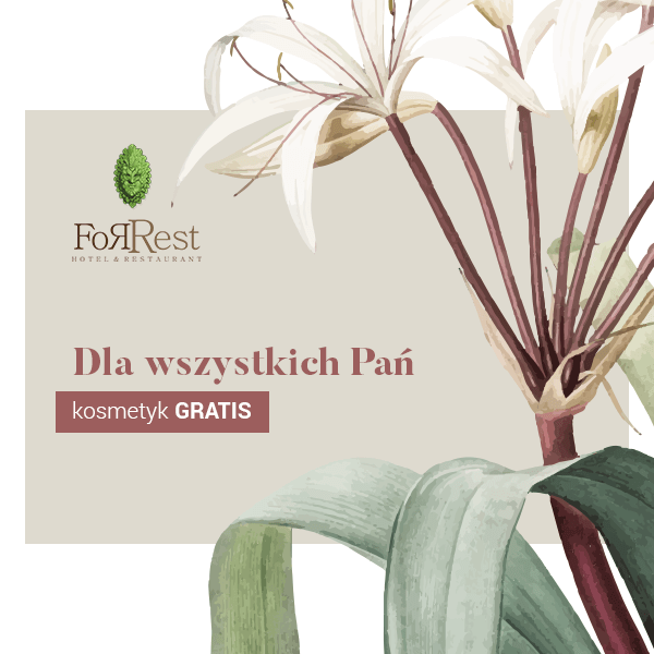 Content marketing dla restauracji hotelowej – For-Rest Hotel & Restaurant