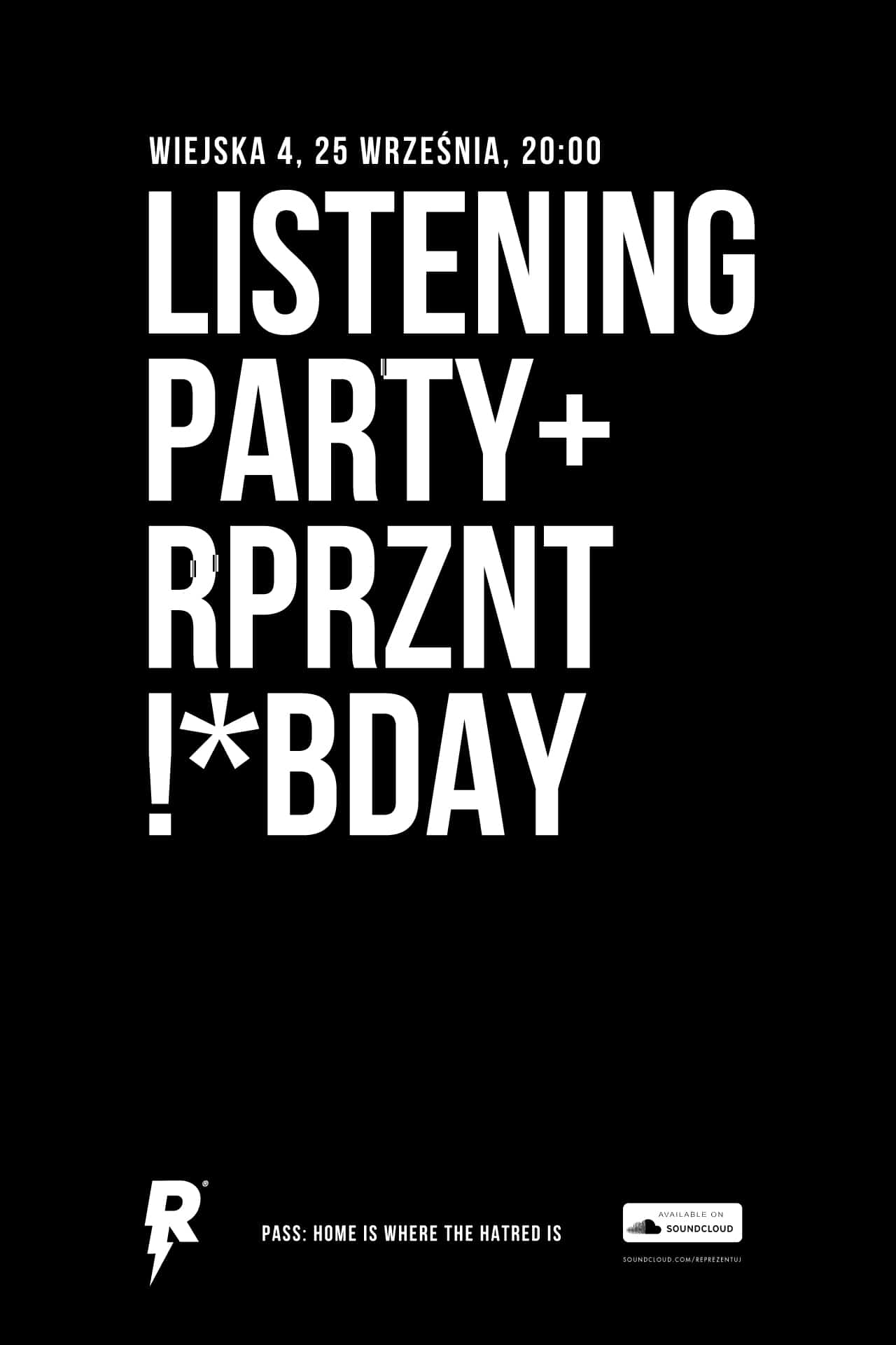 Listening Party + Bday